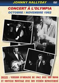 Cover Johnny Hallyday - Concert à l'Olympia - octobre / novembre 1962 [DVD]